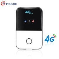 TIANJIE 4G Wifi Router mini router 3G 4G Lte Drahtlose Tragbare tasche wi fi Mobile Hotspot Wlan Router Mit Sim-karte Slot