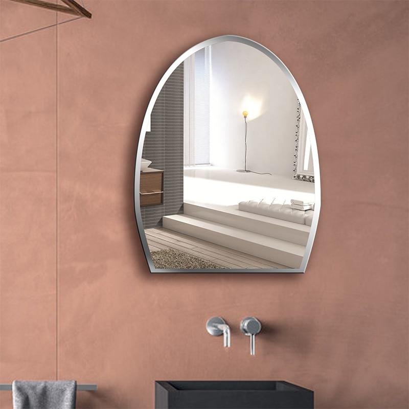 Bathroom Mirror Frameless Sink Hanging