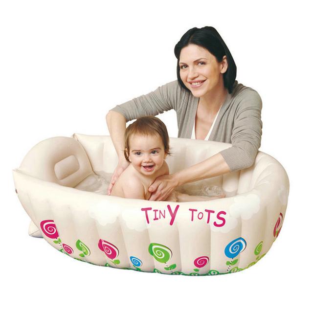 Bebé Bañera Inflable Piscina de Agua de PVC Cuadrado Piscina Tinas De Baño Home Use Gruesa Y Seguro Bebe Zwembad