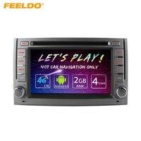 FEELDO 6,2 Android 6,0 (64bit) DDR3 2 г/16 г/4G четырехъядерный LTE автомобильный DVD gps радио головное устройство для hyundai H1/H 1/H3Grand Starex