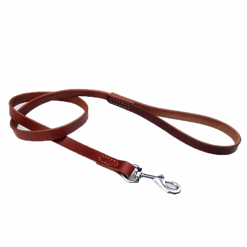 Nueva de cuero de Alta calidad Para Mascotas cuerda de la tracción del zurriago