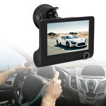 Best Buy 4 inch Car DVR Camera HD 1080P New Dual Lens Vehicle Dash Cam Rear Video G-sensor Camera Recorder DVR Reversing Video Camera