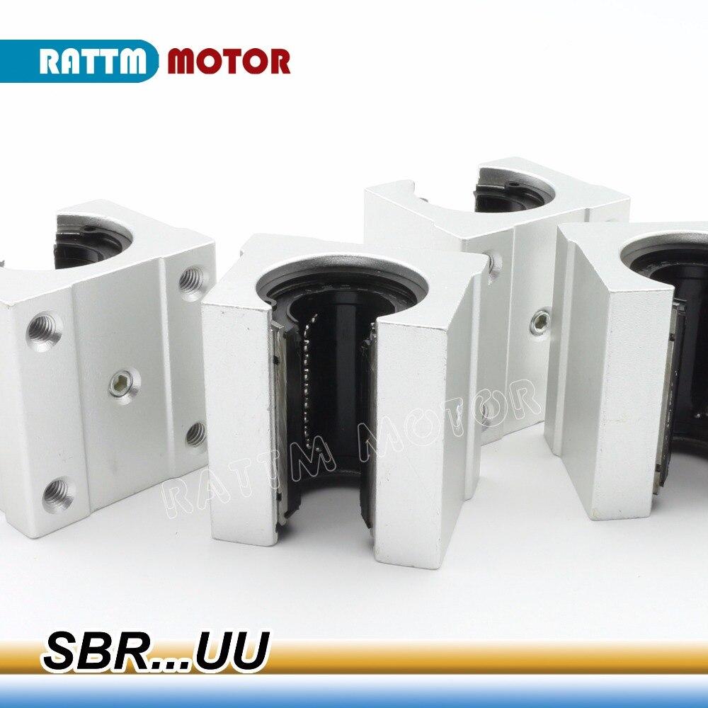 4 шт. SBR12/13/16/20/25uu SBR16 16 мм Линейный шарикоподшипник блок ЧПУ фрезерный станок|machine machine|machine cncmachine cnc router | АлиЭкспресс - Комплектующие к CNC/3D Print (ЧПУ и 3D принтеры)