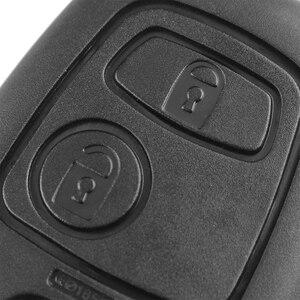 Image 2 - Автомобильный ключ KEYYOU, 2 кнопки, 433 МГц, пульт дистанционного управления, без ключа, для Peugeot 307, Citroen, C1, C3, VA2 Blade, с чипом PCF7961