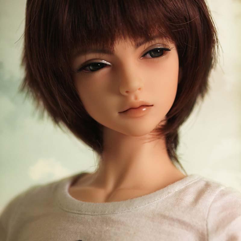 все цены на New Arrival 1/4 BJD Doll BJD/SD Daniels Boy Doll Handsome Include Eyes For Baby Girl Birthday Gift