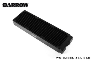 Image 2 - Barrow Dabel 45A 360, 45mm Thicknes 360mm Kühler, Kupfer Dicke Plus Typ Wasser Kühler, geeignet Für 120mm Fans