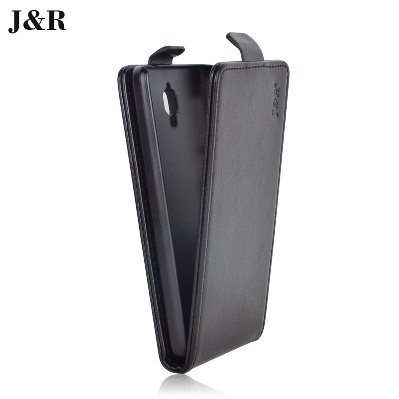 J R Brand For Lenovo S660 Case Luxury PU Leather Cover for Lenovo S660 Flip Style