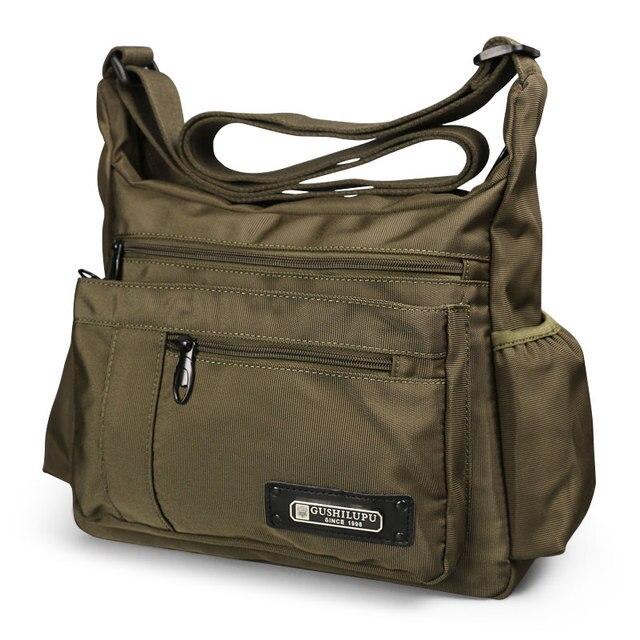 2020 erkekler spor omuz çantaları su geçirmez Crossbody çanta eğlence Oxford kumaş rahat seyahat adam askılı çanta