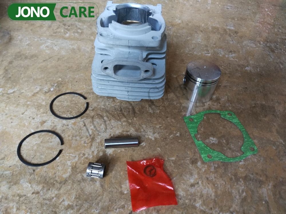 40MM 43CC BC430 CG430 40-5 Engine Brush Cutter Cylinder Piston Kit with Cylinder Gasket Assy and Needle Bearing 45 2mm cylinder piston gasket assy chinese 5800 58cc chainsaw engine rebuilt kit
