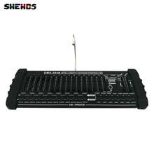 Sprzęt etap Światła Sterownik Oświetlenia DMX Conlose 384B kontrolować Moving Head Światła Etapie szybka wysyłka, SHEHDS