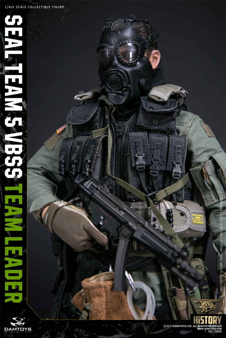 1//6 Scale VBSS Team Commander ABA Backpack Pouch Damtoys Action Figures