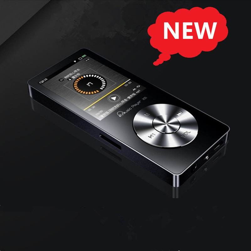 US $23 85 30% OFF|Hifi MP3 Music Player Lossless Mini Stereo 3D Sound FM  Radio Recording E Book Full Metal 8GB Sport MP3 with Speaker Earphone-in  MP3