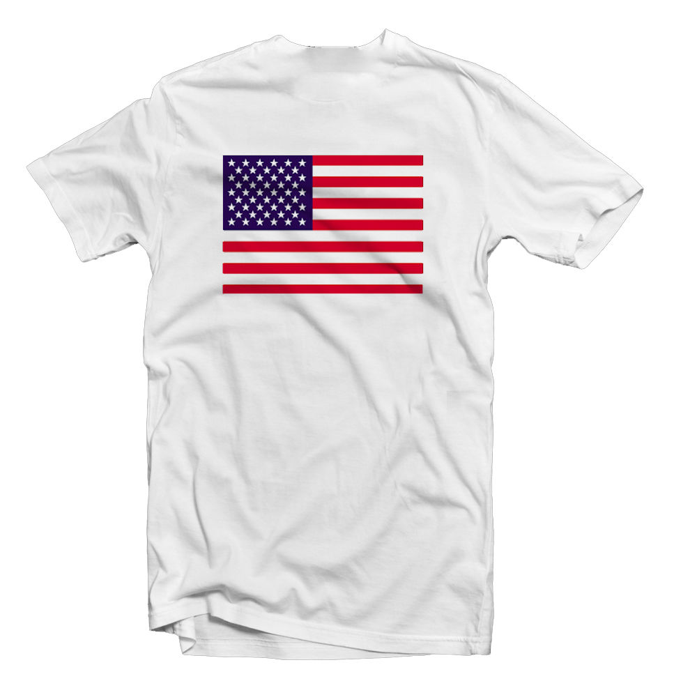 USA AMERICA AMERICAN FLAG T SHIRT TEE 4th JULY MENS WOMENS KIDS ALL SIZES Cool T-Shirts Designs Best Selling Men Solid Color image