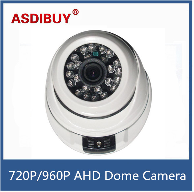 24IR LED CCTV 720P 960P 1080P AHD Camera Security Home IR Cut Indoor White Dome Infrared Night Vision Surveillance camera 60 led infrared security camera floodlight white