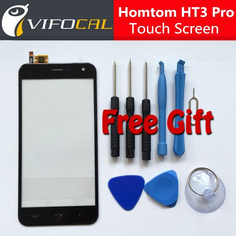imágenes para Homtom HT3 Pro pantalla táctil + Herramientas Set de Regalo 100% Nuevo Ensamblaje del panel de cristal Digitalizador Reemplazo para el teléfono móvil
