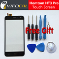 Homtom HT3 Pro touch screen + Tools Set Gift 100% Original Digitizer glass panel Assembly Replacement for mobile phone