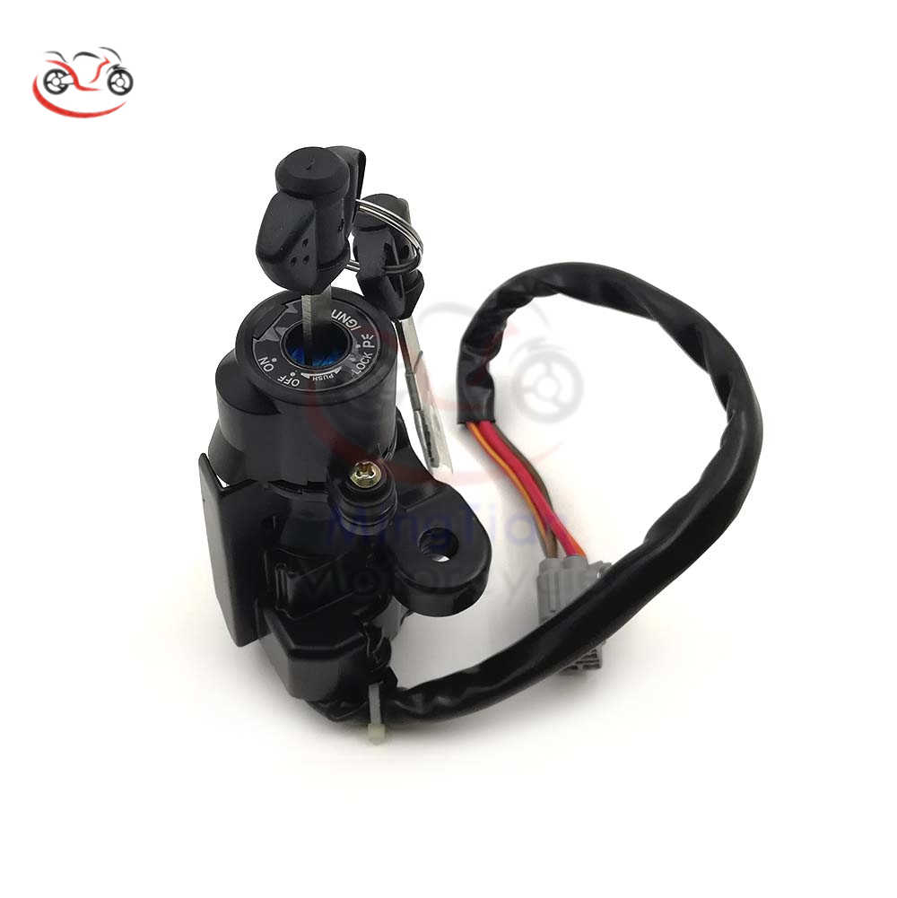 hight resolution of motorcycle ignition switch lock with keys for suzuki gsxr 600 750 gsxr600 gsxr750 2006