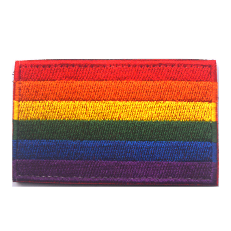 Best buy ) }}FLAG PATCH PATCHES RAINBOW PACE GAY LESBIAN PRIDE LBGT Gay Pride