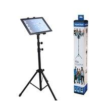 Raking Foldable Floor Tablet Tripod Stand Mount For 7-10 Table PC Stand for iPad 234 Air 2 Ipad 5 Ipad 6 Mini 123 Samsung Kindle
