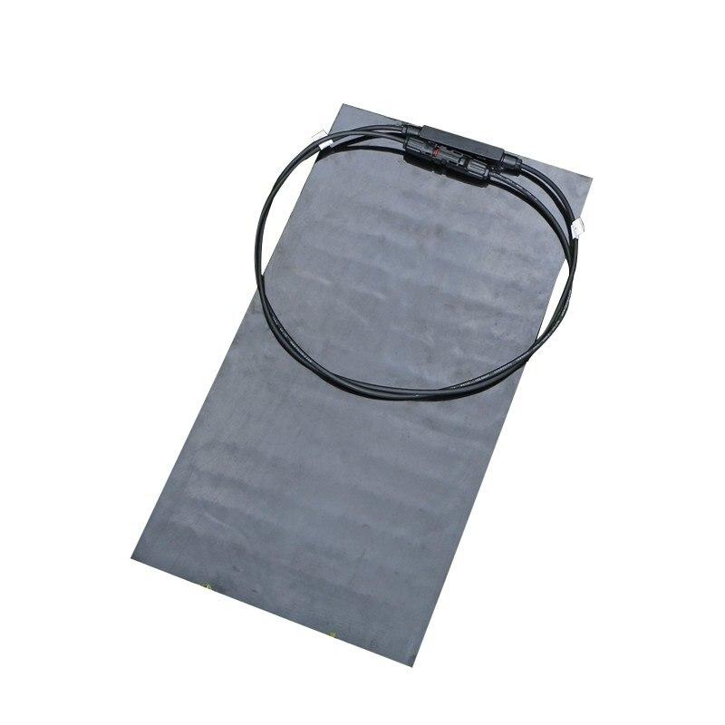 High Quality Universal 25W 18V Black Floor Solar Panels Elfeland SP-15 Sun-Power For Battery Charger Caravan Outdoor+Chip
