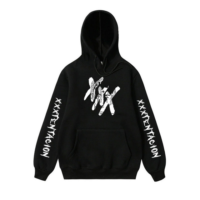 Hot Sale Xxxtentacion Hoodies Sweatshirt Suprem Men Women Casual Pullover Streetwear Hombre Hip Hop Hoodies Funny Print Hoodie Timelord Clothing UK