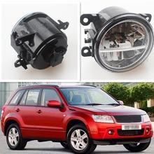 For Suzuki Grand Vitara 2 JT 2005-2015 Car Styling CCC E2 3000-1WK LED Fog Lamps DRL Lights 1 Set стоимость