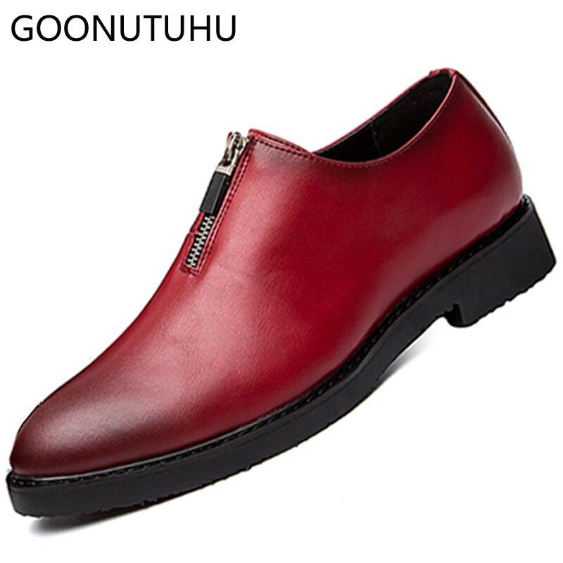 Sapatos Couro De Masculinos Homem Red amp; Causal Homens Nova Moda Para Sapato Mocassim Venda Quente Os Confortáveis Clássico Dos Black Mocassins 2019 Yxz0Iwp