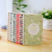 Милые корейские мини-небольшой A6 тетрадь блокноты твердый переплет блокноты планировщик бумажные купюры для школьные канцелярские магазине
