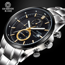 OCHSTIN Mens Watches Top Brand Luxury Quartz Watch 30M Waterproof Fashion Men Watch Man Wristwatch Wrist Watch Relogio Masculino цена 2017
