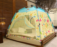 CZX 326 Privacy Play Tent Warm Tent on Bed and Cozy Sleep BedTent, 3~4 Person Play Indoor Tent(Starlight)