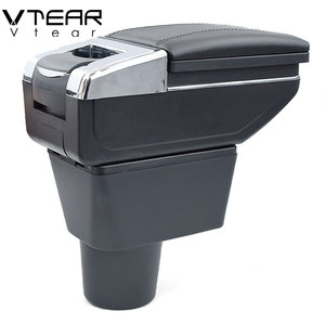 Image 4 - Vtear For renault dacia duster armrest box interior Storage central content box car styling decoration Accessories 2010 2015
