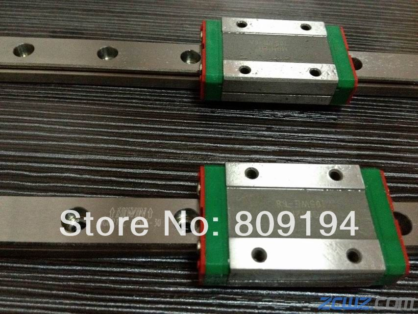 HIWIN MGNR 550mm HIWIN MGR7 linear guide rail from taiwan hiwin linear guide rail hgr15 from taiwan to 1000mm