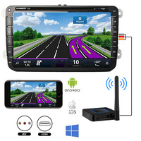 Car vehicle Home Wireless HDMI + AV RCA AirPlay android tv stick Mirroring miracast Dongle 1080P Linux 2.4G 5.8G Wifi streamer