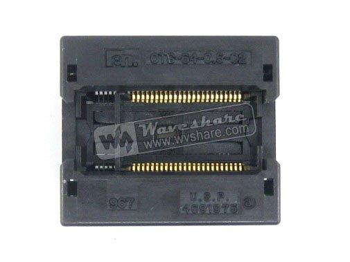 SSOP48 TSOP48 OTS-48(64)-0.5-02 Enplas IC Test Burn-in Socket Programming Adapter 0.5mm Pitch 6.1mm Width запчасти для принтера yinke tsop48 tsop 48 48 0 5 12 tsop48 tsop 48 enplas ic 18 4 0 5 ots 48 0 5 12