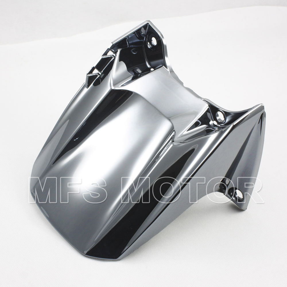 Motorcycle Rear Fender guard FAIRING ABS For Yamaha YZF R1 2004 2005 2006 YZFR1  04 05 06 Silver red for yamaha yzf r25 r3 13 16 14 15 motorcycle rear fender dust mudguard with chain guard fairing tire wheel hugger protector