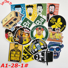 A1-28# Breaking Bad 16/pcs Stickers Various shapes Creative design Doodle