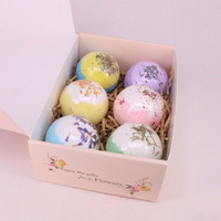 6pcs Bath Salts Bombs Ball Body Scrub Whitening Moisture SPA Valentines Day Gift QS888
