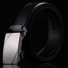 2019 new business elite mens belt double leather alloy buckle exquisite style