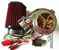 Venta caliente DIY piezas Turbo-500 Turbo kit moto turbocompresor Electronic MINI coche eléctrico compresor de la turbina