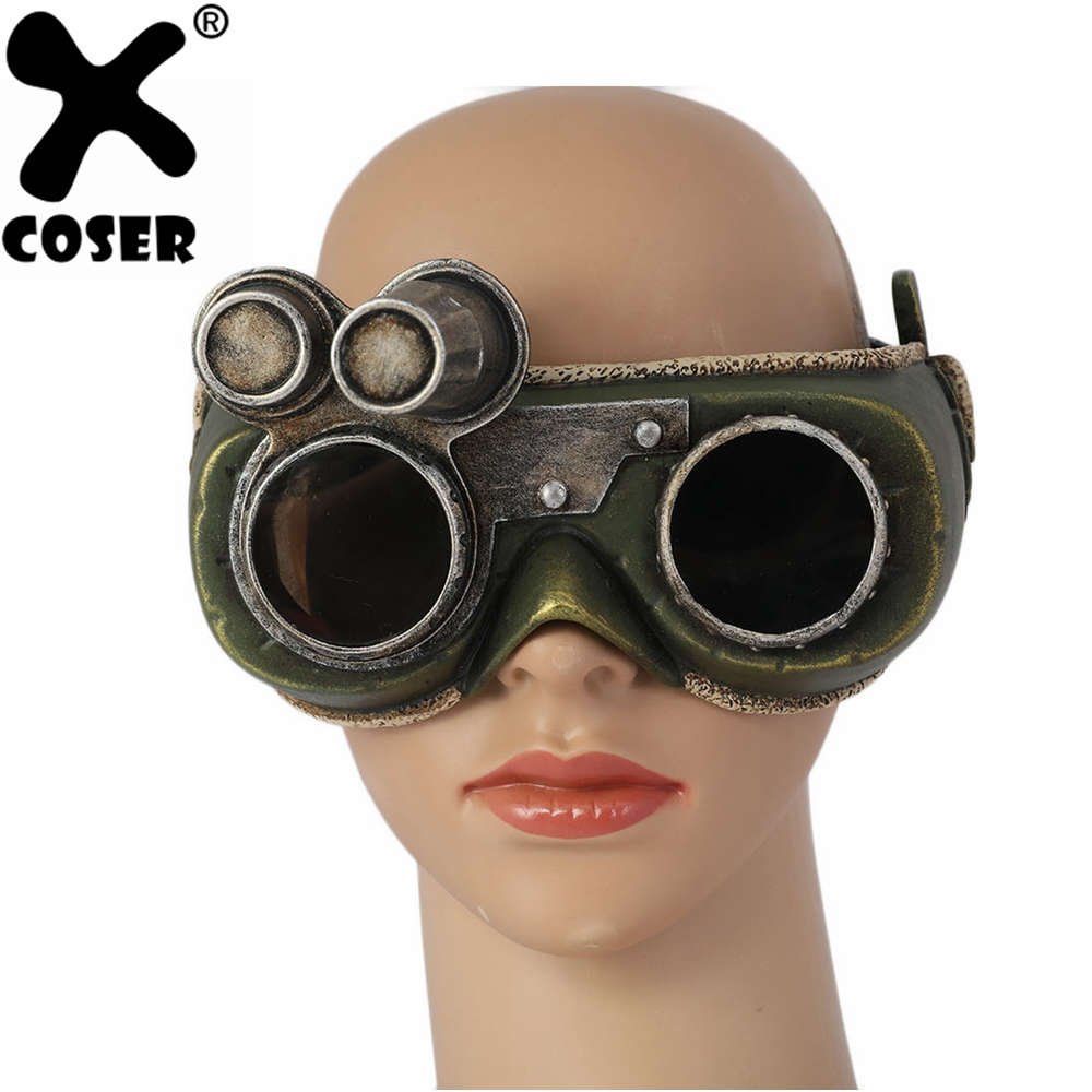 xcoser new arrival monster hunter:world cosplay the handler glasses