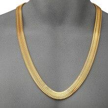 Goofan discoteca negro super gran hip hop rap cadena de oro collar de oro de oro de la boda
