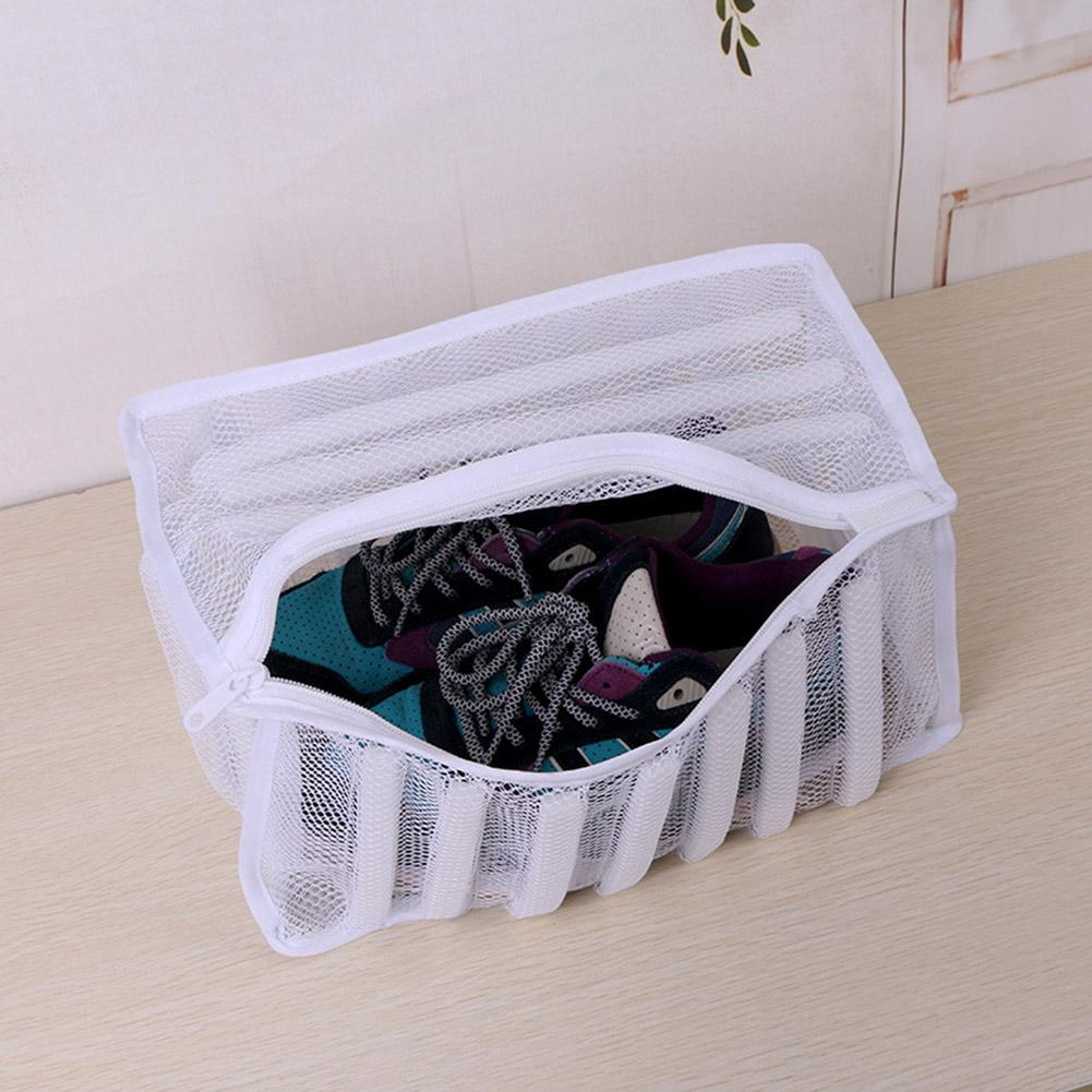 Hot Portable Storage Shoes Bags Travel Tote Washing Machine Dedicated Shoes Care Bags Eco-friendly Hanging Organizers