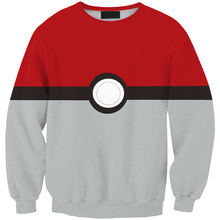 New Arrival Pokemon 3D Prints Polyester Sweatshirt