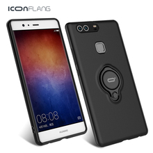 ICONFLANG 360 Degree full body Protection case for huawei p9 P9 Plus cases cover Luxury Armor Full Protect Shockproof Cover