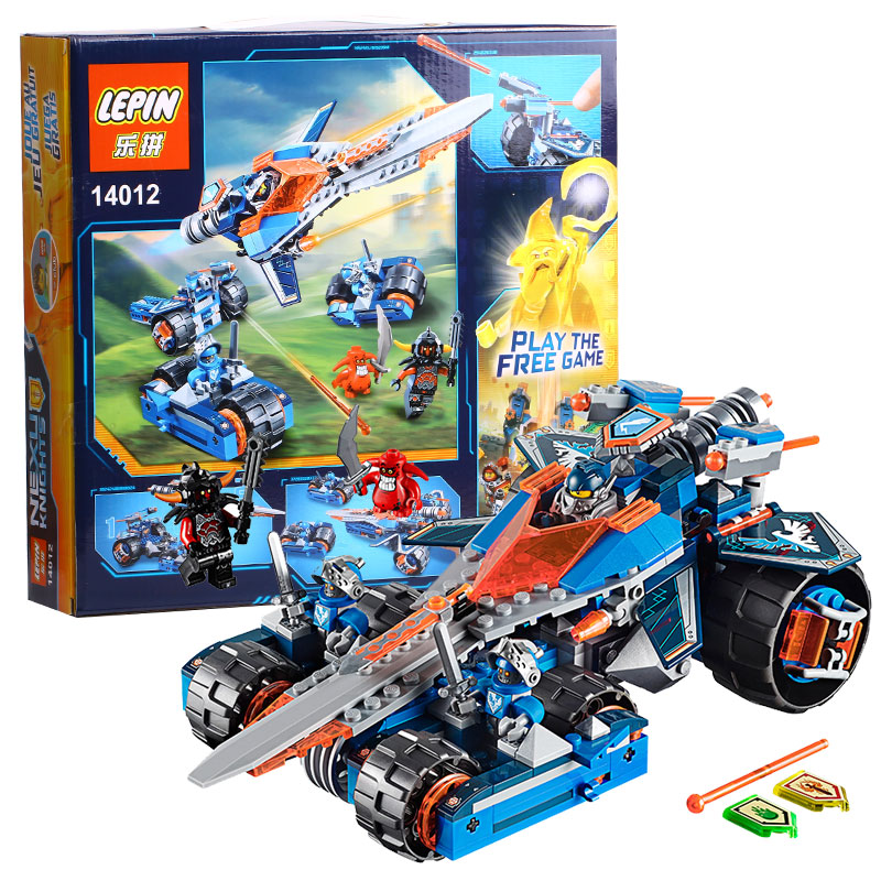 14012 Model building kits compatible with lego Knights Clay s Rumble Blade Jestro model building font
