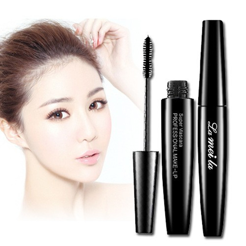 Professional Brand Makeup 3d Black Mascara Fiber Silicon Brush Head Eyelash Extensions Thick Curling Waterproof Cosmetics Eyes