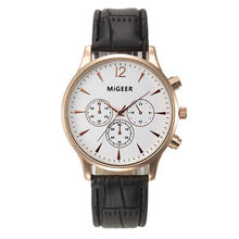 Top Brand Watches Men Relojes Mujer 2016 Luxury Business Wrist Watch Women Leather Quartz Sport Watch Mens Hours Clock Relogio
