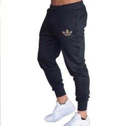 2019 хлопок для мужчин полный спортивные штаны повседневное стрейч фитнес брюки для девочек свободные спортивные штаны мотобрюки бег