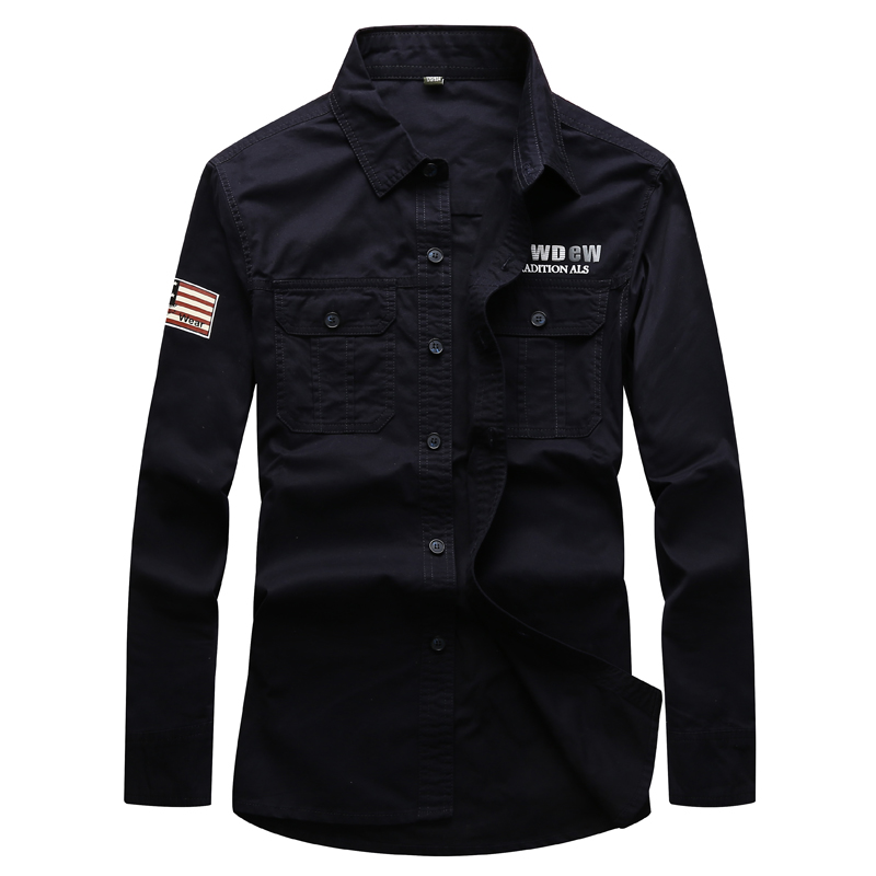 2017 New Design Men 39 S Military Style Army Long Sleeve