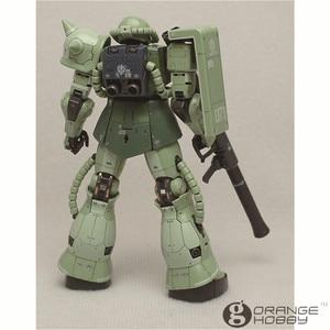 Image 3 - OHS Bandai RG 04 1/144 MS 06F Zaku II Mobile Suit Model Assemblage Kits oh